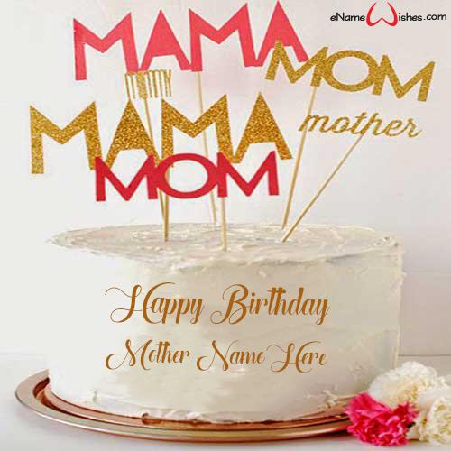 Peachy Elegant Birthday Wish Name Cake Enamewishes Funny Birthday Cards Online Hendilapandamsfinfo