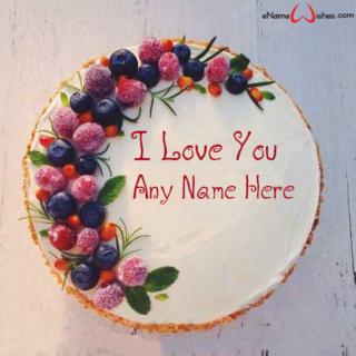 Elegant-Love-Wish-Cake-with-Name