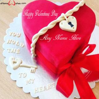 Elegant-Red-Velvet-Name-Wish-Cake-for-Valentines-Day