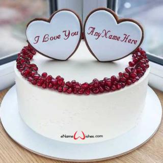 Festive-Love-Wish-Name-Cake