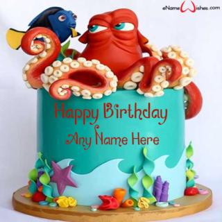 Finding-Dory-Birthday-Wish-Name-Cake