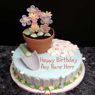 Garden-Birthday-Wish-Cake-with-Name
