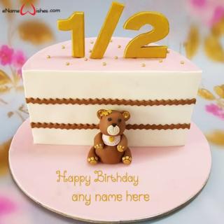 Half-Birthday-Cake-with-Name-Edit-for-Baby-Girl