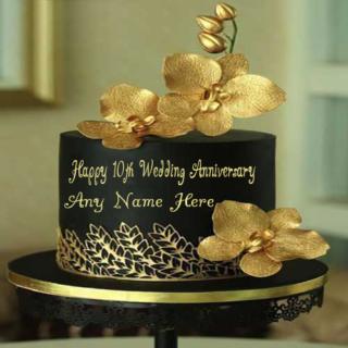 Happy-10th-Wedding-Anniversary-Name-Cake