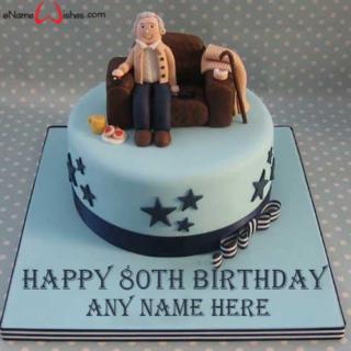 Happy-80th-Birthday-Wish-Name-Cake
