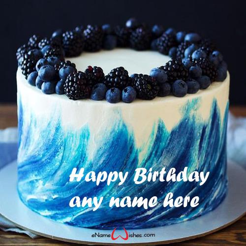 Birthday Layer Cake With Name Generator