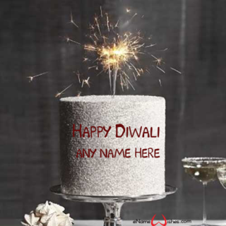 Happy-Diwali-Festival-Wishes-Special-Cake-With--Name