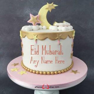 Happy-Eid-Wish-Cake-With-Name