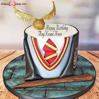 Harry-potter-themed-birthday-name-cake