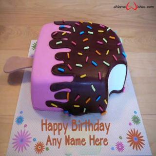 Ice-Cream-Name-Birthday-Wish-Cake