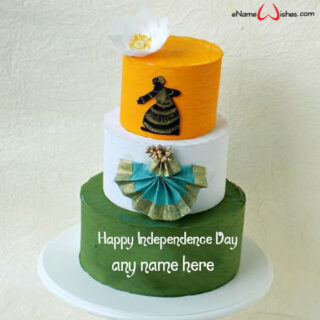 Incredible-India-Independence-Day-Wish-Cake-with-Name-Edit