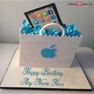 Ipad-Birthday-Name-Cake