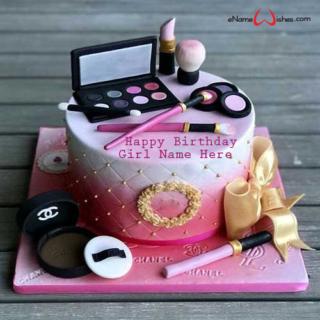 Lovely-Chanel-Birthday-Name-Cake