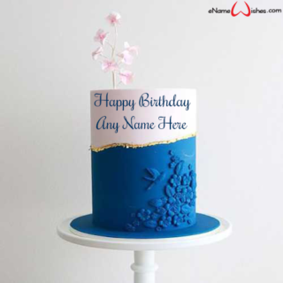 Luxurious-Birthday-Wish-Name-Cake