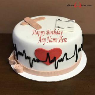 Medical-Birthday-Name-Wish-Cake