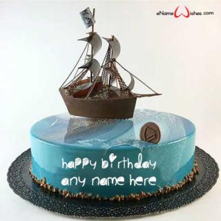 Mirror-Glazed-Birthday-Wish-Cake-with-Name