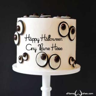 Monster-Eye-Halloween-Name-Cake