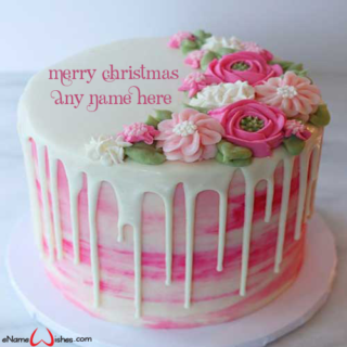 Online-Christmas-Wish-Cake-with-Name