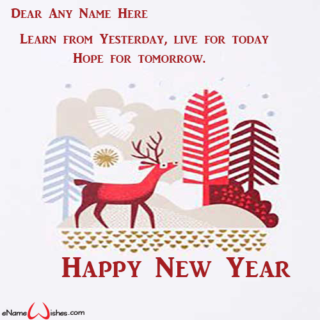 Online-New-Year-Wish-Card-with-Name