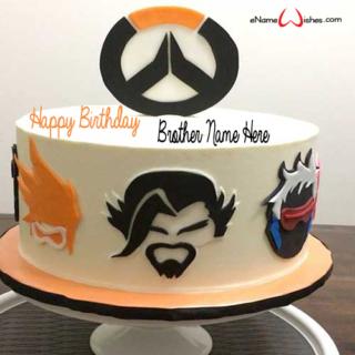 Overwatch-Birthday-Name-Wish-Cake