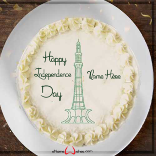Pakisatn-Traditional-Independence-Day-Name-Cake