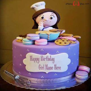 Pastry-Chef-Birthday-Name-Cake