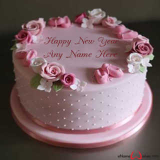 Personalized-New-Year-Wish-Cake-with-Name