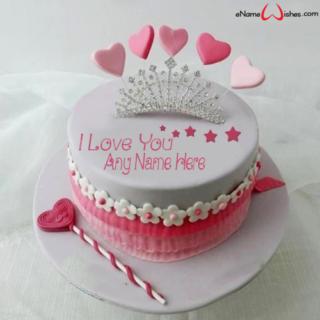 Princess-Love-Wish-Name-Cake