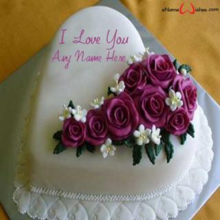 Purple-Flower-Love-Wish-Cake-with-Name
