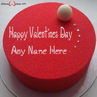 Red-Velvet-Valentine-Name-Wish-Cake