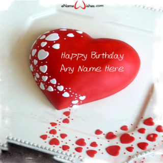 Red-White-Heart-Name-Birthday-Cake