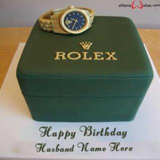 Rolex-Birthday-Name-Cake
