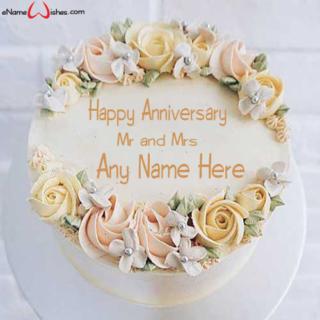 Rustic-Floral-Wedding-Name-Cake
