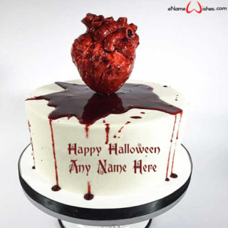 Scary-Heart-Halloween-Wish-Cake-with-Name
