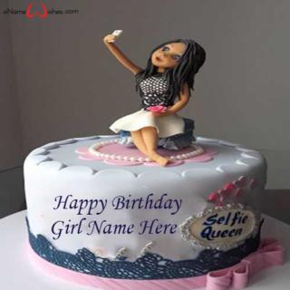 Selfie-Birthday-Name-Cake