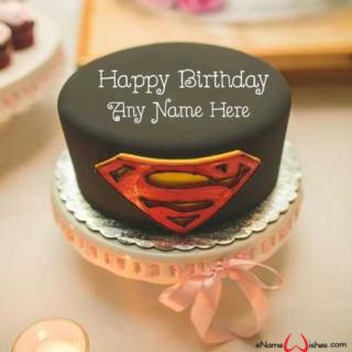 Super-Man-Birthday-Wish-Name-Cake