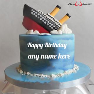 Titanic-Birthday-Cake-with-Name-Edit