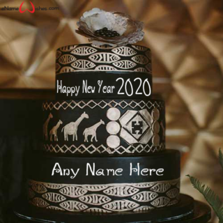 Traditional-New-Year-2020-Wish-Cake-with-Name