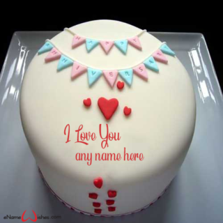 True-Love-Cake-With-Name