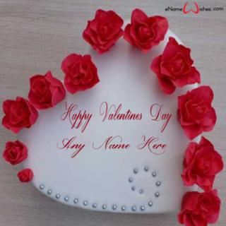 Valentine-Rose-Cake-Wish-with-Name