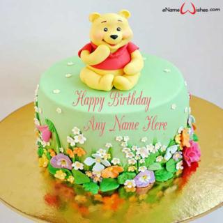 Winnie-the-Pooh-Birthday-Name-Cake