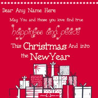 Write-Name-on-Christmas-Greetings-Card