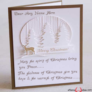 Write-Name-on-Christmas-Wish-Card