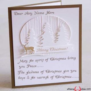 Write-Name-on-Christmas-Wish-Card
