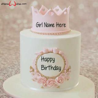 Write-Name-on-Decorated-Birthday-Name-Cake