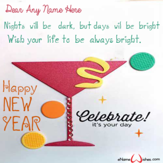 Write-Name-on-Happy-New-Year-Wish-Card