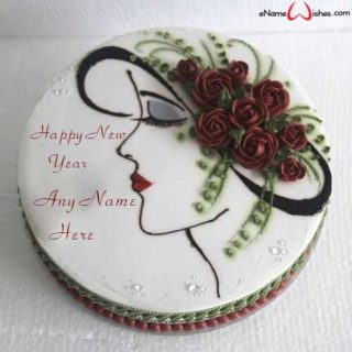 Write-Name-on-Rose-Flower-Name-Wish-Cake