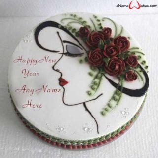 Write-Name-on-Rose-Flower-Name-Wish-Cake