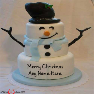 Write-Name-on-Santa-Claus-Christmas-Wish-Cake