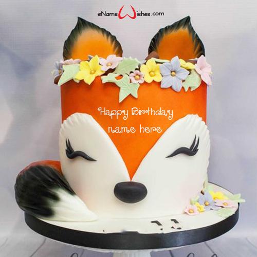 Animated Birthday Cake With Name Enamewishes